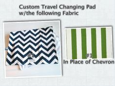 Custom Travel Diaper Changing Pad  Baby by PreciousLittleTot, $25.99
