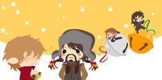 The Hobbit Advent - Bells by CibiaH.deviantart.com on @DeviantArt