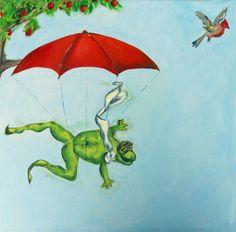 FabelHaft Ölbild von Atelier Art-istique auf DaWanda.com