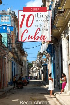 There is a Cuba underneath the vibrant colonial houses and the American cars. Get insight with these 10 things that nobody tells you about Cuba! Cuba Travel, Beach Travel, Mexico Travel, Spain Travel, Beach Trip, Hawaii Beach, Oahu Hawaii, Cuba Beaches, Visit Cuba