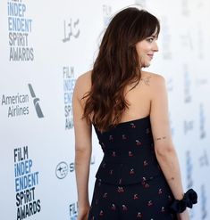 She looks amazing as always! ❤️ February, Dakota Johnson at the 2019 Film Independent Spirit Awards. Dakota Johnson Style, Dakota Mayi Johnson, Spirit Awards, Killer Queen, Beautiful Inside And Out, Jamie Dornan, Her Style, My Girl, Beautiful Women