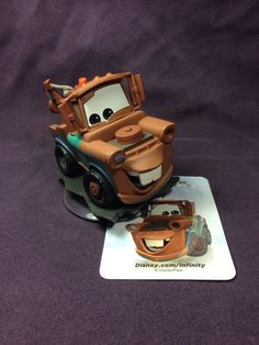 Disney INFINITY Loose Figure & Web Code Card For 1.0 2.0 3.0 - Cars Mater #Disney