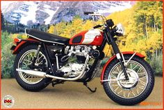 1969 Triumph Bonneville Motorcycle
