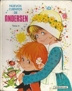 * LJ12 - NUEVOS CUENTOS DE ANDERSEN TOMO 4 - ILUSTRADO POR MARIA PASCUAL (Libros de Lance - Literatura Infantil y Juvenil - Cuentos)