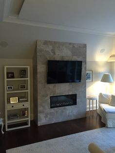 Forrest Hill Master Bedroom TV With Equipment Located In The Basement HDMI Extenders And Wireless