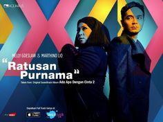 Lirik Lagu Ratusan Purnama - Melly Goeslaw feat Marthino Lio (OST. AADC 2)