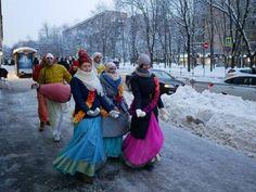 Harinama in Moscow, Russia (Album with photos) Srila Prabhupada: The Hare Krishna chant is called the maha-mantra, the great, e...