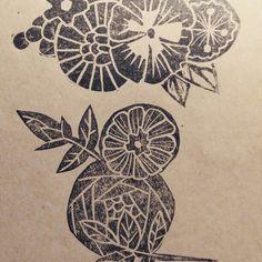 Some recent lino print work inspired by the small details in the work of legend Harry Clarke by Sarah Bracken www.brackensarah.com Harry Clarke, Dream Catcher, Inspired, Detail, Tattoos, Artist, Inspiration, Biblical Inspiration, Dreamcatchers