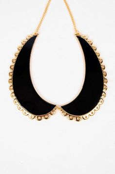 Betsy Collared Necklace tobi.com $23
