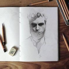 #pencil #sketch #male