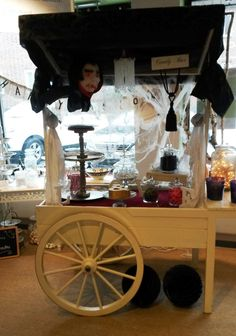 You want it dark, really dark? Candy Cart, Bar Cart, Furniture, Halloween, Home Decor, Deco, Gifts, Decoration Home, Room Decor