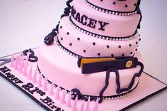 Hairdressing 21st cake