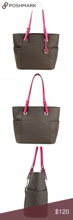 7b3ba3fe838 Spotted while shopping on Poshmark  Michael Kors Jet Set East West Tote!