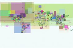 Flickr Shapefile Bounding Boxes by Tom Insam