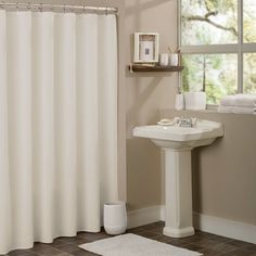 Shop Wayfair for Sweet Home Collection Vinyl Anti-Mildew Shower Curtain Liner - Great Deals on all Bed & Bath products with the best selection to choose from!