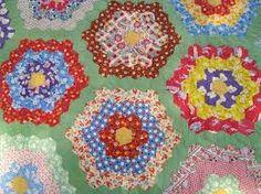「Flower Garden Patchwork Quilt」の画像検索結果
