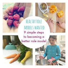 How to be a healthy role model for your child