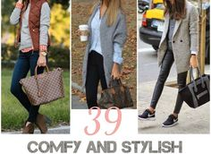 39 Comfy and Stylish Winter Outfits for Work