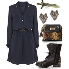 """Ned Stark inspired outfit"" by withfashionandblood on Polyvore"