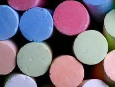 Making chalk from egg shells!!!