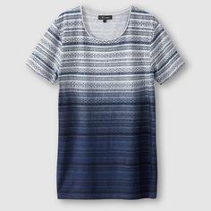 Camiseta estampada estampado azul R Édition | La Redoute España