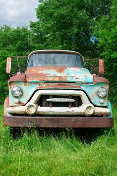 Abandoned Vehicles, Abandoned Cars, Vintage Trucks, Old Trucks, Rust In Peace, Rusty Cars, Car Pictures, Photos, Army Vehicles
