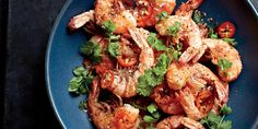 Leave the shells on and up the spice to make this fast seafood supper.