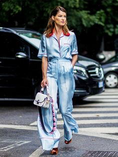 We've rounded up all the proof you need that chic pajama outfits can work for any occasion.
