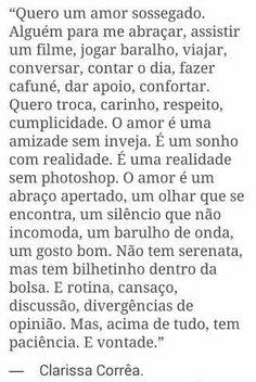 Um amor é... ❤