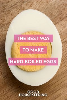 This is the classic, two-step, no-fail process for how to make perfect hard-boiled eggs that works every time. Click for the full tutorial and for more hard boiled eggs.