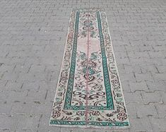 homevintagerug full of pretty vintage rugs by homevintagerug Kitchen Rug, Vintage Rugs, Bohemian Rug, Unique Jewelry, Handmade Gifts, Pretty, Home Decor, Kid Craft Gifts, Decoration Home