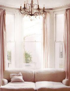 Big windows. Preferably with deep window sills!