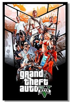 Grand Theft Auto I've played Vice City, San Andreas, GTA 4 and GTA I liked them all but it is really cool to create a character who looks just like Harrison Ford and one who looks just like Angie. Gta 5 Pc Game, Gta 5 Games, Xbox Games, Grand Theft Auto Games, Grand Theft Auto Series, Gears Of War 3, Video Game Posters, Video Game Art, Gta 5 Mobile