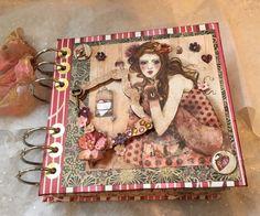 Handmade Santoro Willow Scrapbook Photo Album   eBay