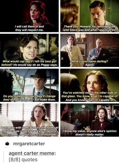 Iconic quotes how to be badass, marvel heroes, marvel dc comics, marvel avengers Marvel Dc Comics, Marvel Heroes, Marvel Avengers, Peggy Carter, Marvel Women, New Quotes, Funny Quotes, Marvel Movies, Marvel Cinematic Universe