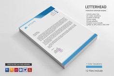 Letterhead. Stationery Templates