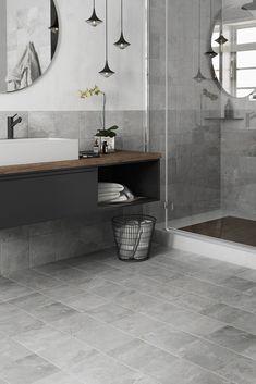 Bathroom Remodeling: Choosing a New Shower Stall – Interesting Decor Art Deco Bathroom, Bathroom Colors, Bad Inspiration, Bathroom Inspiration, Bathroom Styling, Bathroom Interior Design, Floor Layout, Upstairs Bathrooms, House Inside