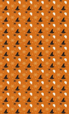 Shared by MJ. Find images and videos about background, Halloween and pattern on We Heart It - the app to get lost in what you love. Halloween Cards, Holidays Halloween, Vintage Halloween, Halloween Wallpaper, Halloween Backgrounds, Halloween Coloring Pages, Paper Frames, Diy Dollhouse, Printable Paper