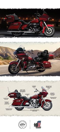 The model of choice for the riders. | 2016 Harley-Davidson Road Glide Ultra