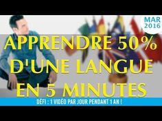 Apprendre 50% d'une langue en 5 minutes ! - Master Class' - Mental Vlog 72/366 - YouTube