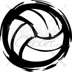 Volleyball Clipart Image. Easy to Edit Vector Format.