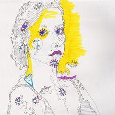 Self Portrait by Nina Meahan