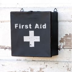 Vintage Style First Aid Box