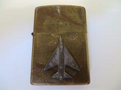 Brass 3D Raised Emblem Air Force Plane Military Vietnam War Zippo Lighter   eBay