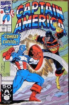 Captain America  #393 October 1991 Marvel Comics