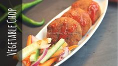 Vegetable Cutlet or Bengali Vegetable Chop is a iconic street food in Kolkata and a Bengali favorite tea time snack. No Cook Appetizers, Appetizer Dishes, Food Dishes, Appetizer Recipes, Vegetable Cutlets, Bruchetta Recipe, Pilsbury Recipes, Tea Time Snacks, Vegan Snacks