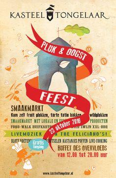 Pluk & Oogstfeest Kasteel Tongelaar, Brabants Landschap