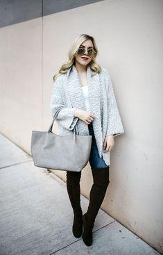 122970cbf871 keeping it cozy + how to wear sweater jackets