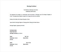 Formal marriage certificate marriage certificate template doc format free marriage certificate template selecting certificate template word online for diy certificate printing yadclub Image collections
