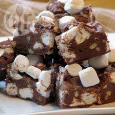 Chocolate Fudge or Rocky Road @ allrecipes.co.uk